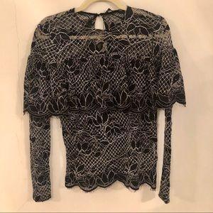 Zara Tops - NWOT Zara lace blouse